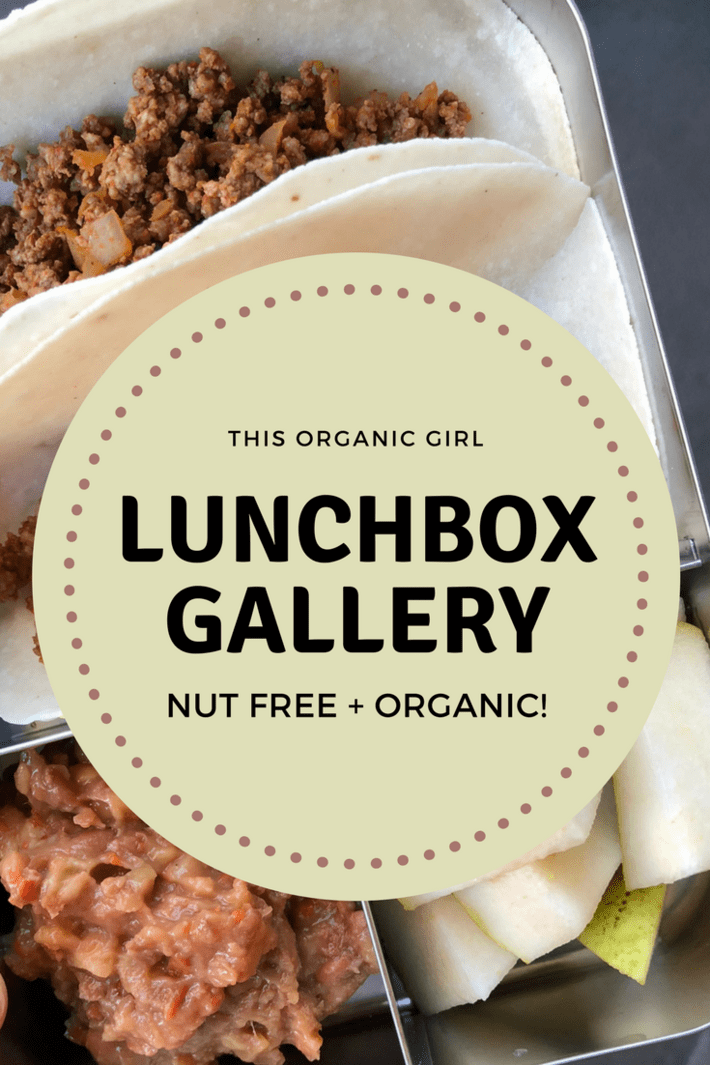FOURTY Nut-Free, Organic School Lunches Your Kids Will Love! Pin this for those days when you have no idea what to pack! #organicliving #organiclunchbox #healthykids #nutfreelunch #nutfreelunchbox #thisorganicgirl