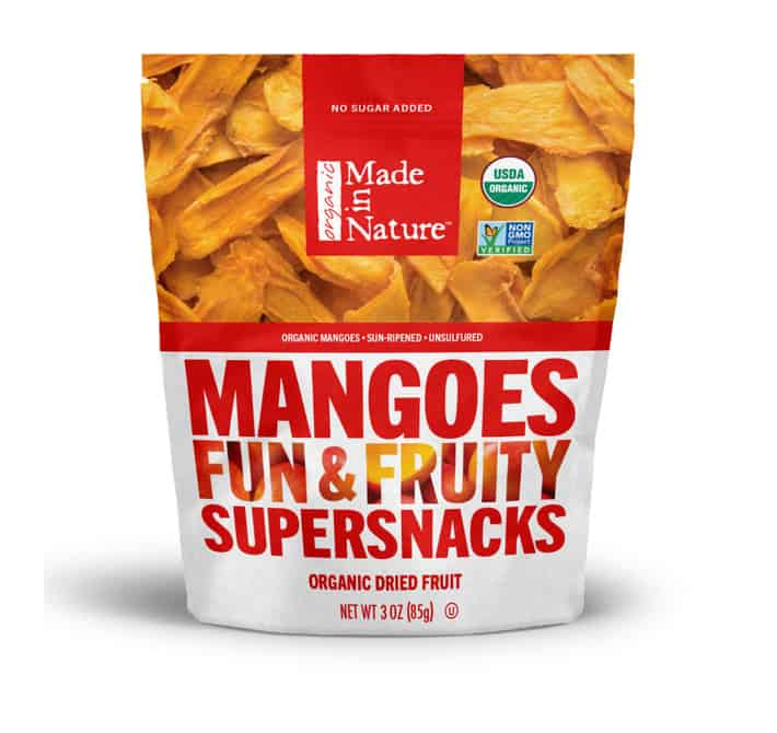 best dried organic mangoes