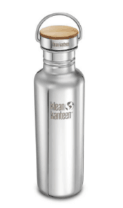 Klean Kanteen 27oz plastic-free reusable water bottle