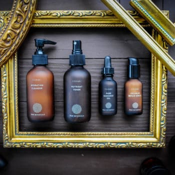 Skincare products from True Botanicals clear line