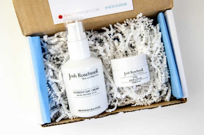 Josh Rosebrook Beauty Heroes box