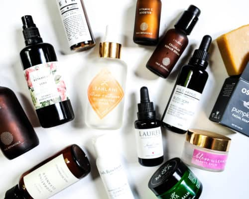 Current skincare lineup