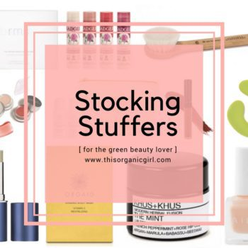 Clean Beauty Stocking Stuffers