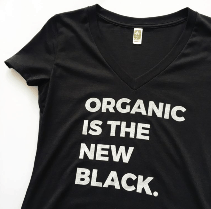 Organic Is The New Black Tee