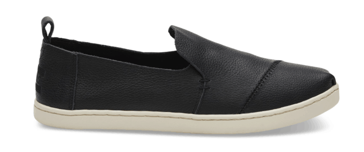 Black Leather Toms