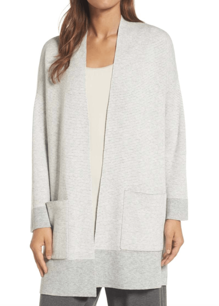 Eileen Fisher Reversible Organic Cardigan