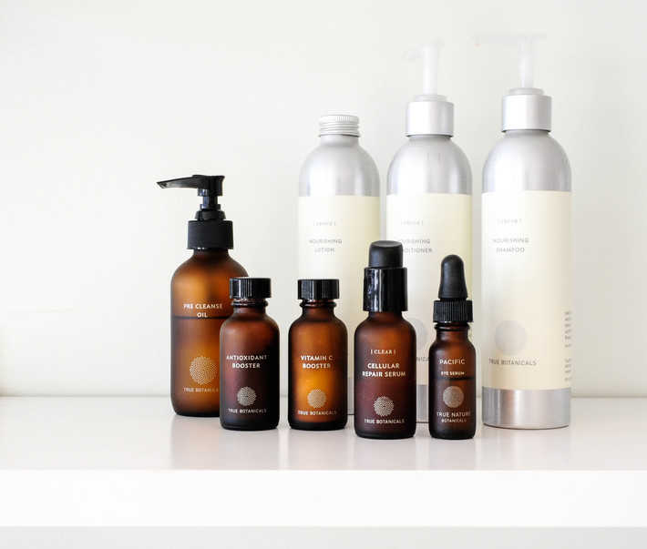 True Botanicals skincare