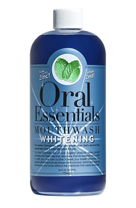 Oral Essentials Whitening Mouthwash