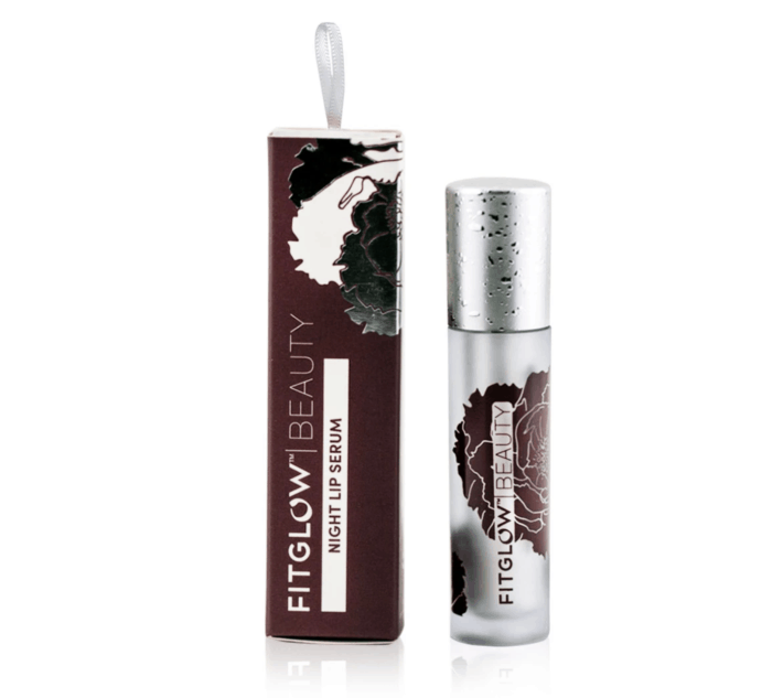 fitglow beauty night lip serum