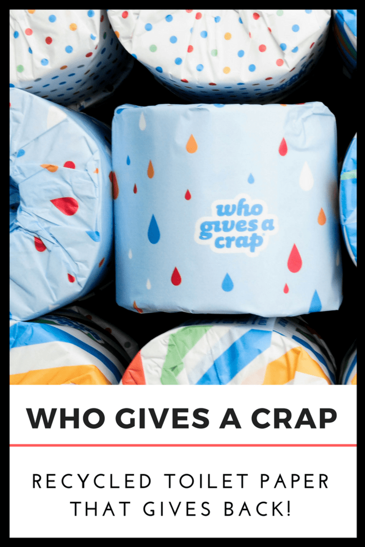 Meet Who Gives A Crap! An ethical and sustainable toilet paper company donating 50% of their profits to help build toilets around the globe! #whogivesacrap #recycledtoiletpaper #ethicaltoiletpaper #nontoxictoiletpaper #thisorganicgirl