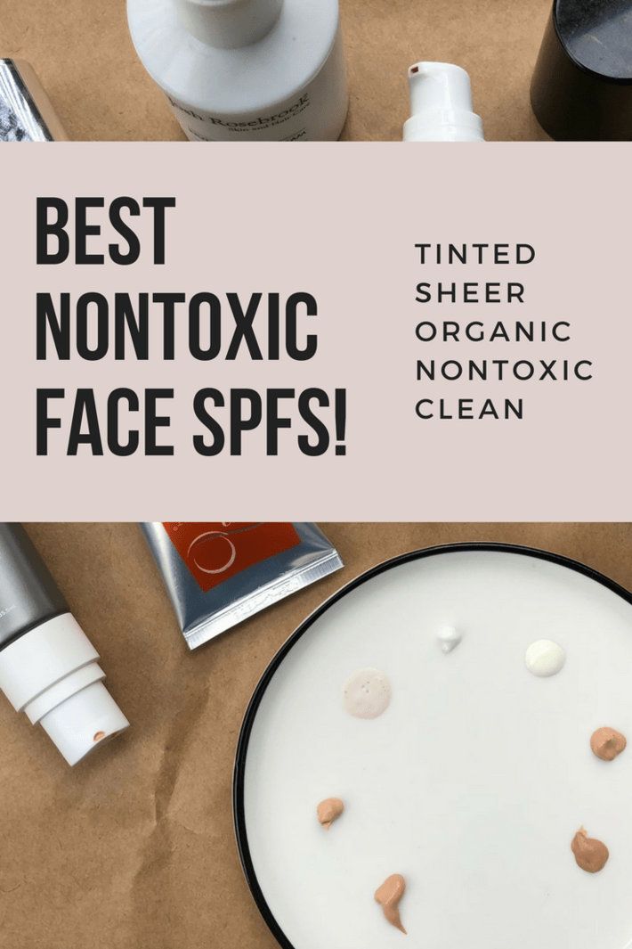 Obviously we should be wearing face SPF year round but once spring hits, the hustle to find a daily nontoxic face SPF gets REAL. Dishing on my fave nontoxic facial SPFs for everyday and detailing out some tinted options too! Plus my go-tos for face, body + lips on beach days! #thisorganicgirl #nontoxicSPF #nontoxicfaceSPF #nontoxicsunscreen #organicsunscreen