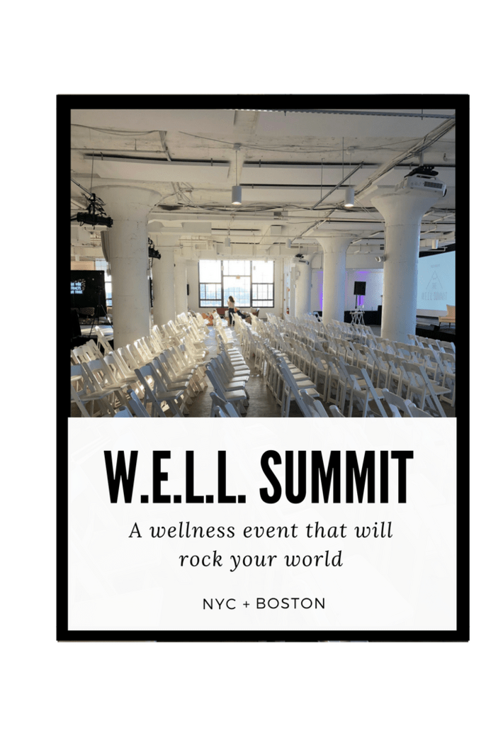 A day of all things #wellness! W.E.L.L. Summit Boston 2018 came and went but I learned so much about toxins to avoid in our everyday products, how to effectively communicate with my partner, how to maximize moon cycles, crush social media and more. I even took a sound bath! Come see! And join us for W.E.L.L. Summit NYC 10/5/2018! #wellnessevents #wellsummit #thisorganicgirl #organicnyc #organicboston #nontoxicliving #nycevents