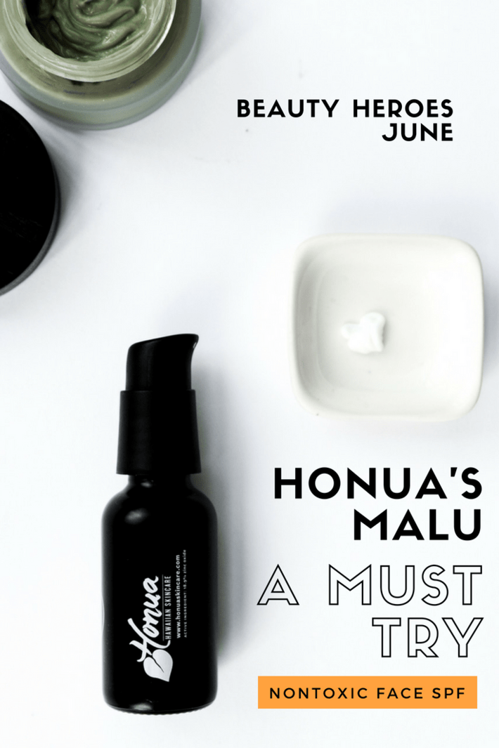 Honua's MALU is a must-try nontoxic face SPF! Beauty Heroes is delivering Honua for the month of June and we are seeing Honua's MALU SPF 30 Protective Day Cream for the face ($42) and MOANA MASK ($38). Plus, as a bonus, we are also getting an exclusive Beauty Heroes glass straw ($10). The total value for this month's discovery is $90 but your's for less than $39! #beautyheroes #nontoxicskincare #organicskincare #nontoxicspf #safespf #facespf #organicspf #thisorganicgirl