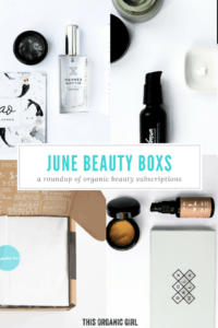 June Beauty Boxes organic