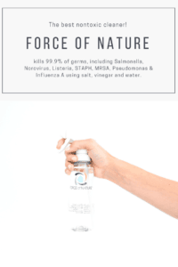 Force of Nature, The best nontoxic cleaner!