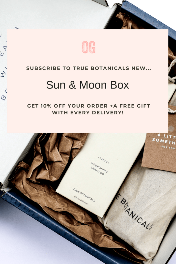 If you haven't tried True Botanicals yet, now is your chance!!! Nontoxic, luxe skincare that actually works! Their new Sun & Moon subscription offers a 10% discount + a free gift! This month's gift is a $25 reusable Swell water bottle! Bomb! #organicskincare #organichaircare #nontoxicskincare #truebotanicals #thisorganicgirl