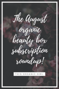 august beauty box roundup