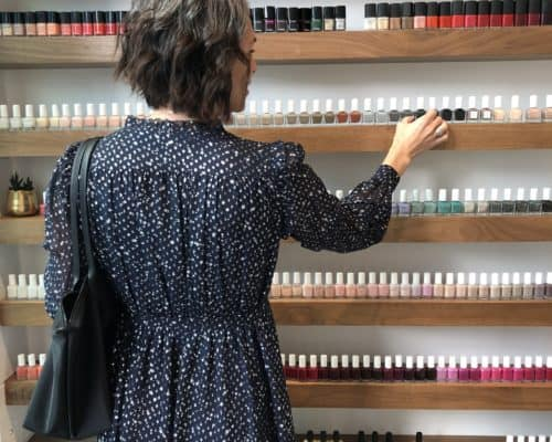 nail polish shopping