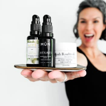 organic skincare for women in their forties