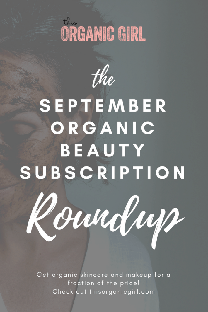 beauty subscription roundup september