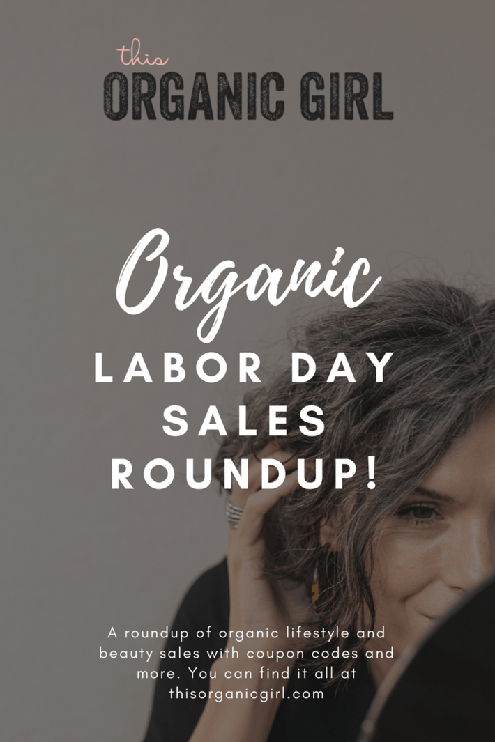 I've got all the organic Labor Day sales rounded up here with coupon codes and more. Save on nontoxic mattresses, safe cleaners, get FREE 100% grassfed ground beef, my fave lipstick and more! #thisorganicgirl #labordaysales #makeupcouponcodes #organicmakeup #organicskincare
