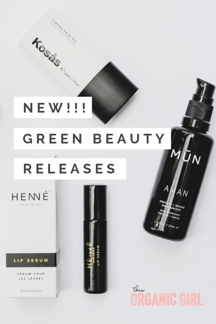 new in green beauty