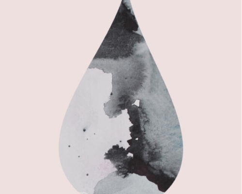 water filters for your home, pink painting, abstract painting, Nynne Rosenvinge