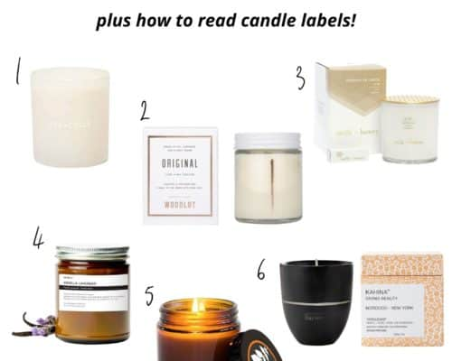 nontoxic candle buying guide