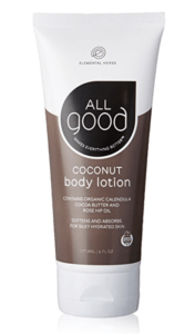 All Good organic body lotion