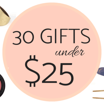 30 organic gifts under $25