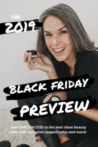 black friday clean beauty sales 2019