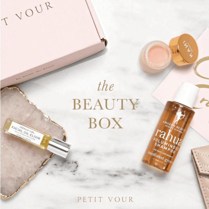 Petit Vour cruelty free nontoxic budget beauty subscription