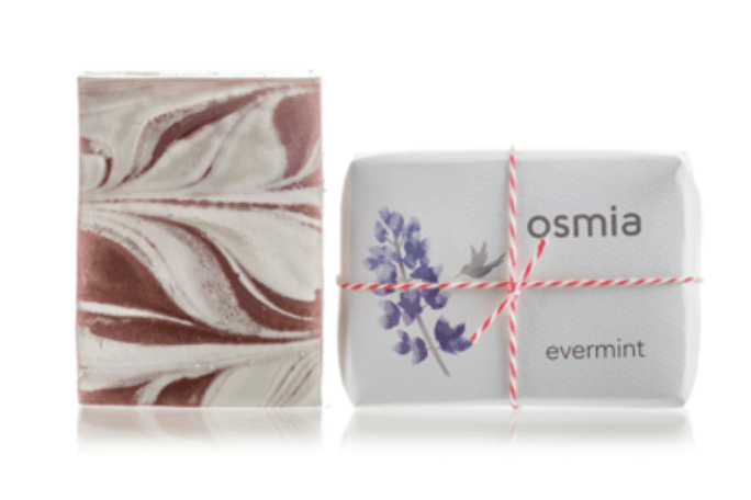 OSMIA handmade soaps, organic gifts, organic stocking stuffers