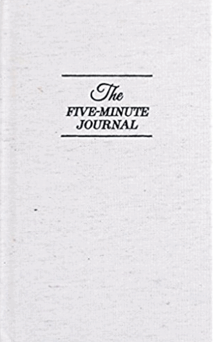 The Five Minute Journal, organic gifts, organic stocking stuffers