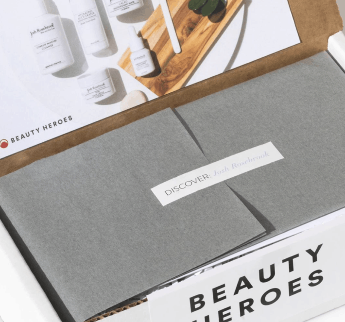 unboxing a beauty heroes box