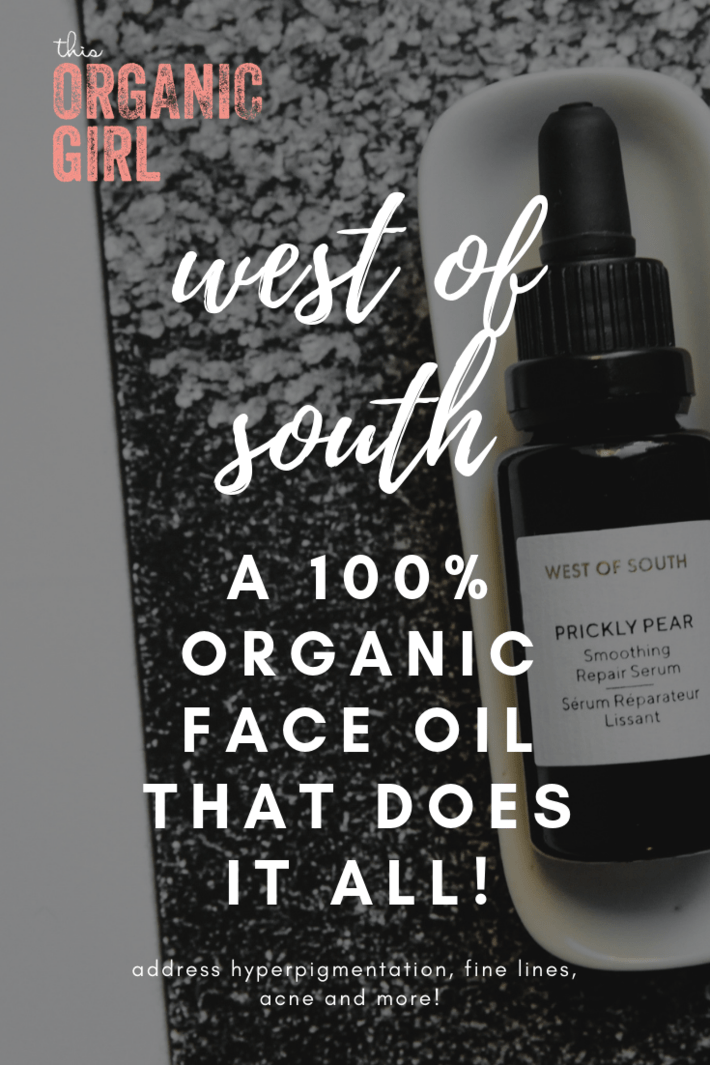 Imagine if you found a serum that would address fine lines AND hyperpigmentation!? (And all the children of the 80's said YASSS!) Look no further than West of South. Their Prickly Pear Serum is 100% organic and does just that and more - come see! #thisorganicgirl #westofsouth #organicmoisturizer #organicskincare #reducewrinkles #antiaging #naturalaging