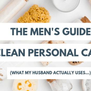 mens nontoxic personal care