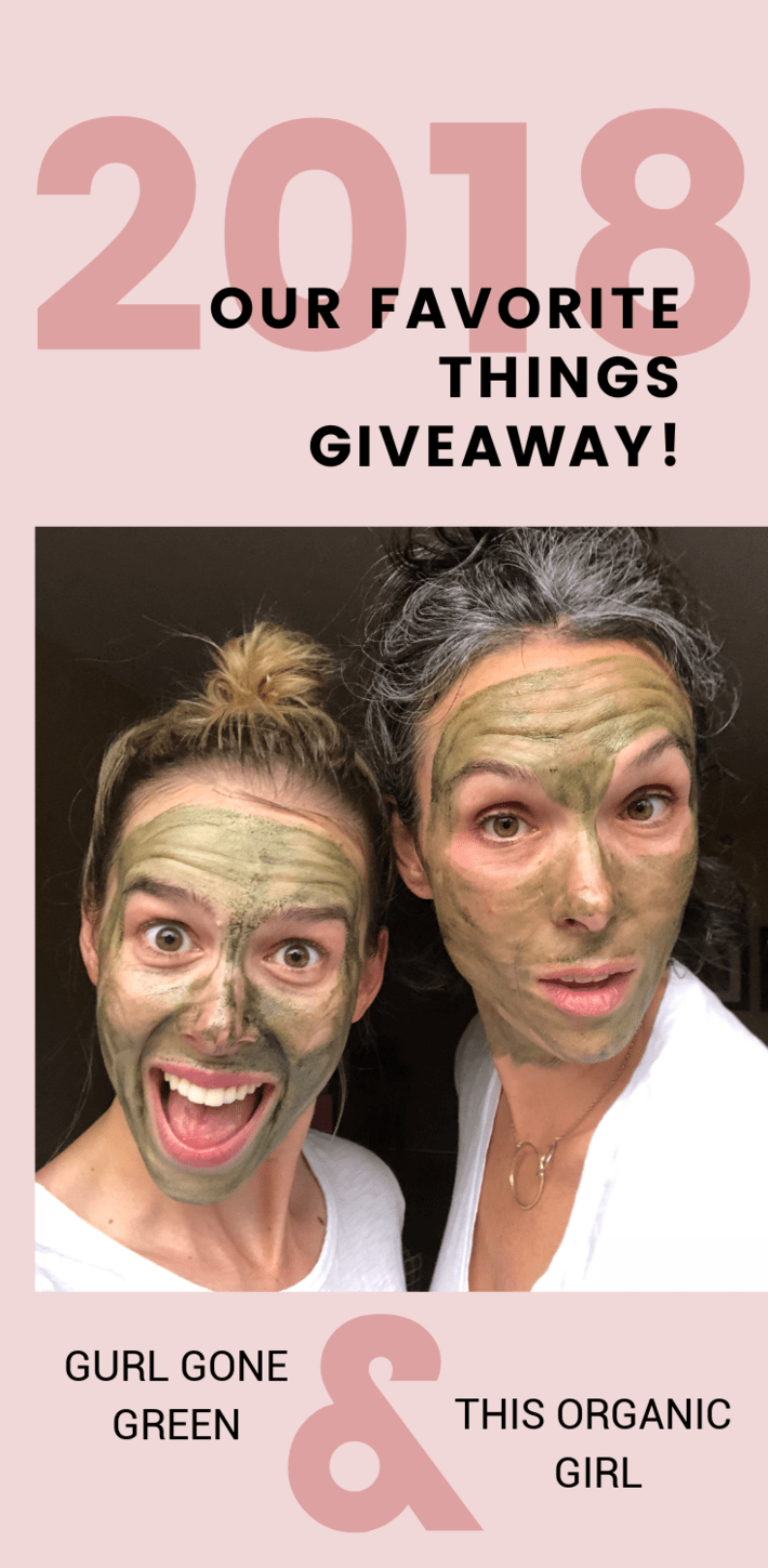 Coming out Oprah style with me + Gurl Gone Green's 2018 Favorite Things Giveaway! 13 days. Over 25 giveaways. A $5,000+ total value. Don't miss this!!! #organicskincare #organicmakeup #gurlgonegreen #thisorganicgirl #giveaway #bestgifts