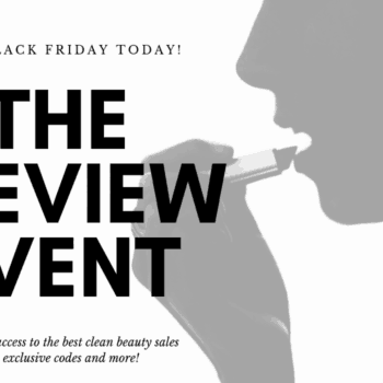 shop Black Friday early, clean beauty, organic makeup