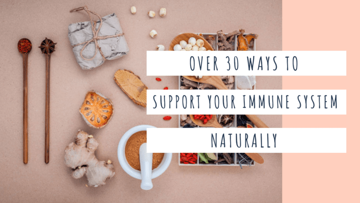 support the immune system naturally