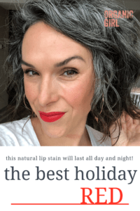 the best organic red lip stain