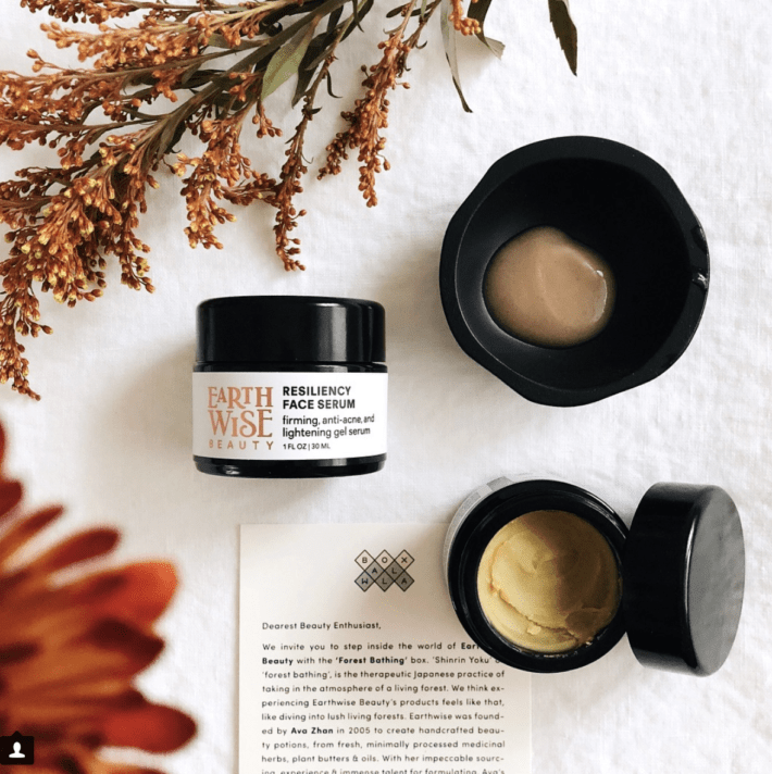 boxwalla december featuring earthwise beauty