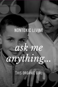 how to do nontoxic living