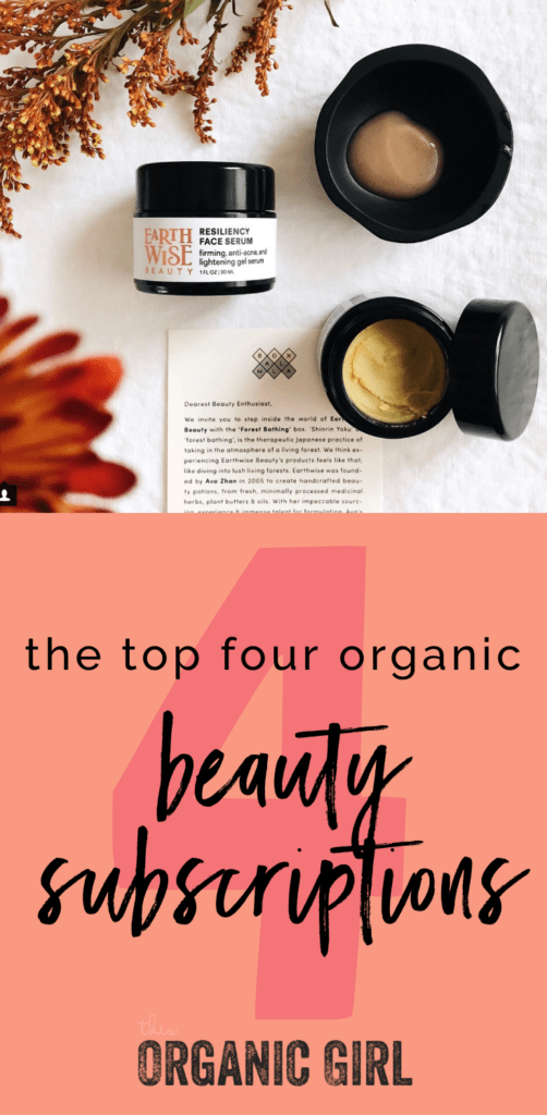 top 4 beauty subscriptions