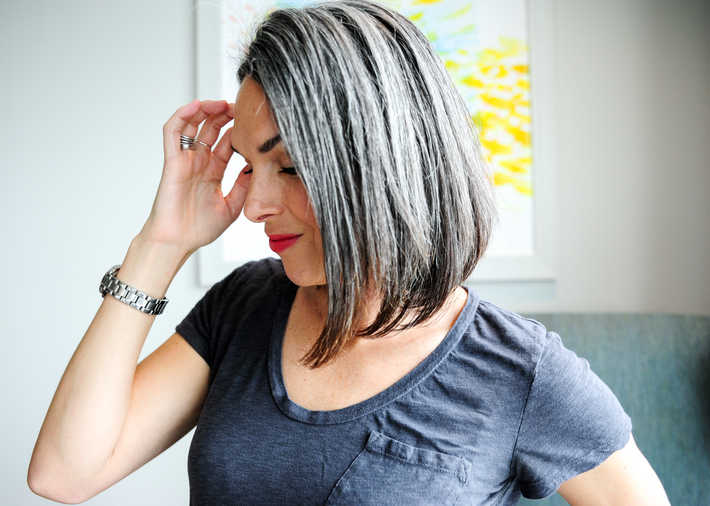 Gray hair, do care - Why to ditch the dye - This Organic Girl