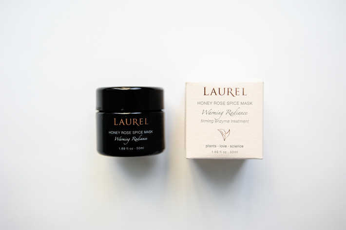 Laurel Honey Rose Mask Packaging