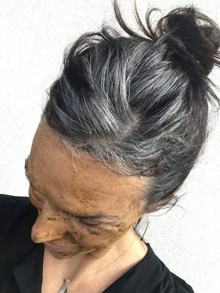 going gray 4 months