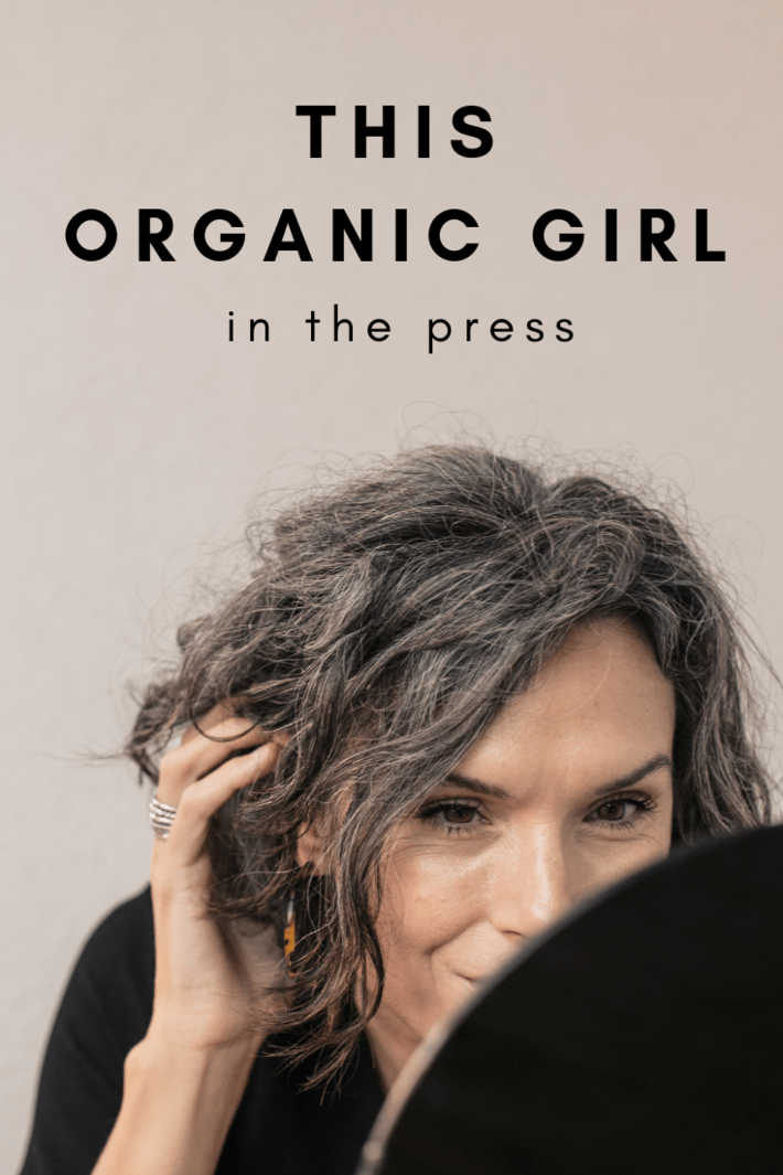 this organic girl in the press