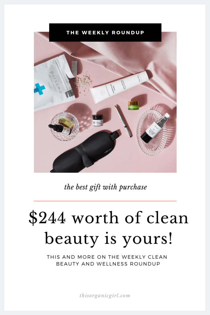the wellness and clean beauty roundup
