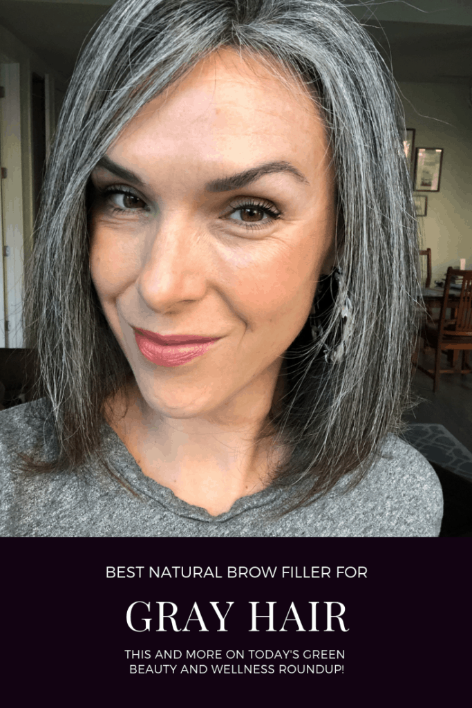 best natural brow filler for gray hair